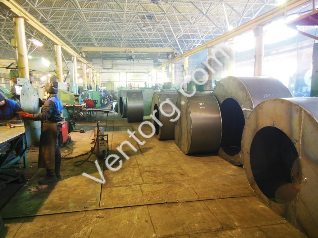 Вентиляторы пылевые радиальные ВЦП 7-40-6,3