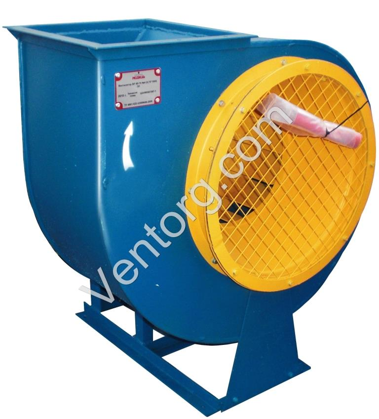 Вентилятор ВЦ 4-70-2,5