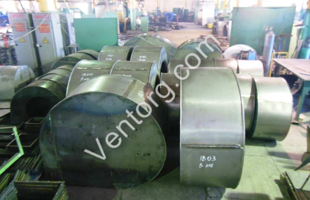 Вентилятор центробежный пылевой ВЦП 7-40-10
