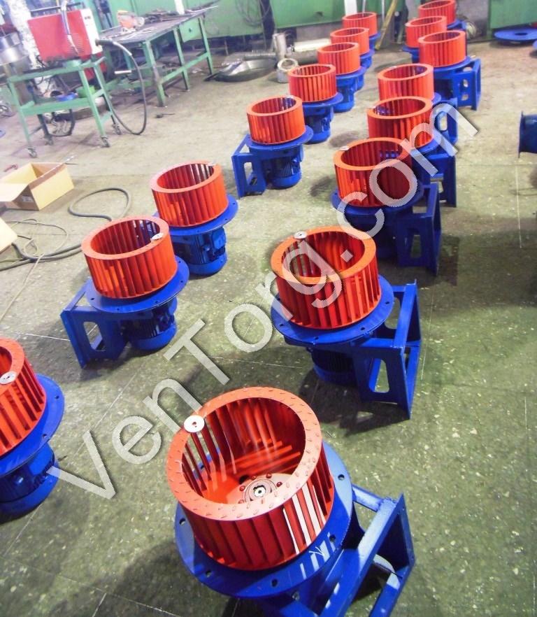 Изготовление вентиляторов ВР 300-45