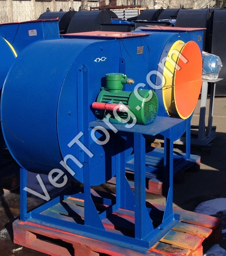 Производство промышленных вентиляторов ВЦ 4-70-12