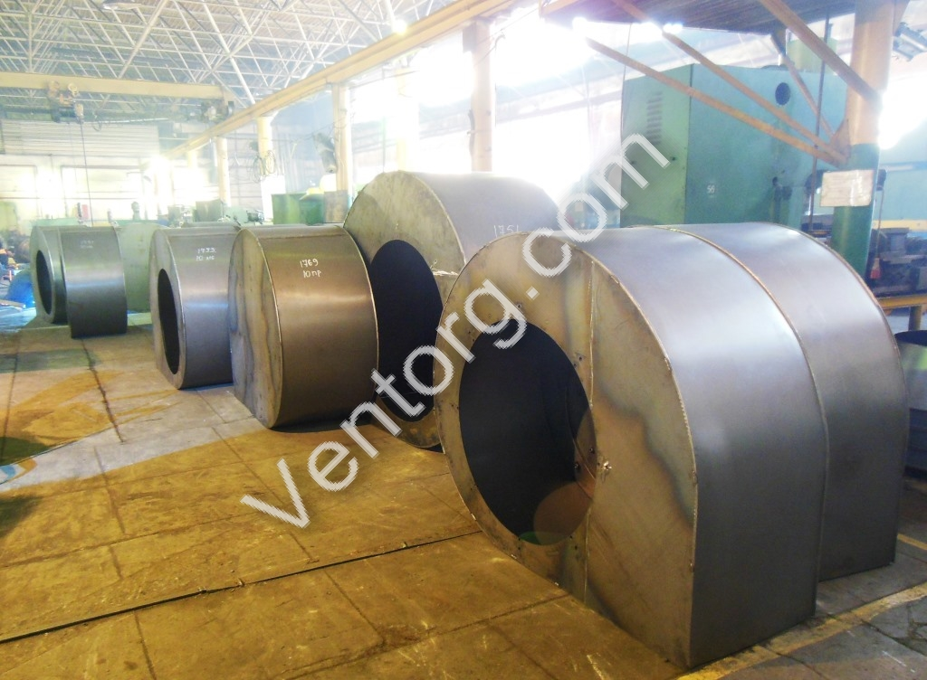 Пылевые вентиляторы ВЦП 7-40-5
